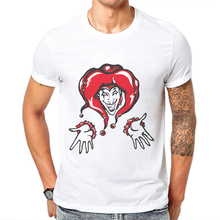 Hip Hop Mens Tshirts Clown Printed Men T Shirt New Fashion Hipster Tee Shirts Short Sleeve Cotton Casual Tops Male Funny T-Shirt new tot sale plus size t shirt men gradient color short sleeve printed funny t shirts summer fashion hip hop men tee shirt top