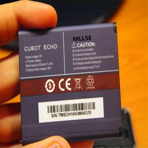 MLLSE ECHO 3000mah battery For CUBOT ECHO Mobile phone battery