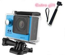 MLLSE Sport action video camera 4K wifi Ultra HD 1080p 60fps 170D Go waterproof mini cam pro sports camera gopro hero+ Monopod