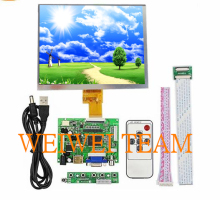 цена на 8 inch IPS 1024*768 tablet LCD display screen HJ080IA-01E HE080IA-01D Driver Board Audio Control For Raspberry HDMI VGA