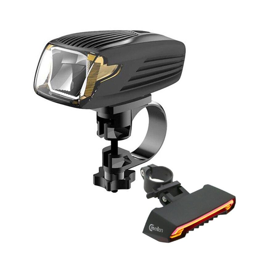 CMeilan X5 велосипед реальный свет Smart Беспроводной управления USB велосипед лампа аксессуары