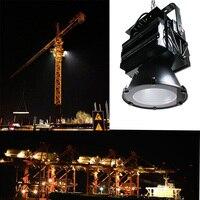 LED Flood Light Tunnel Light Harbour Lights CREE 500W Tower Chandelier For 40 60M Crane