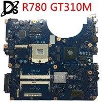 KEFU R728 Laptop motherboard r780 para Samsung R780 BA92-06515A BA92-06515B BREMEN-M GT310M Teste ORIGINAL 100% trabalho