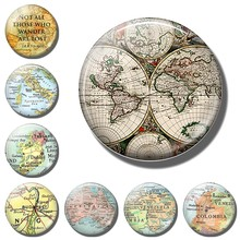 World Venezuela travel fridge magnets countries souvenir Italy Ireland Australia Colombia map decorative refrigerator magnets(China)