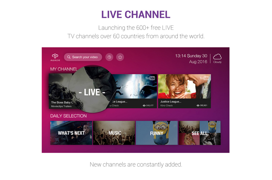 5 live channel_