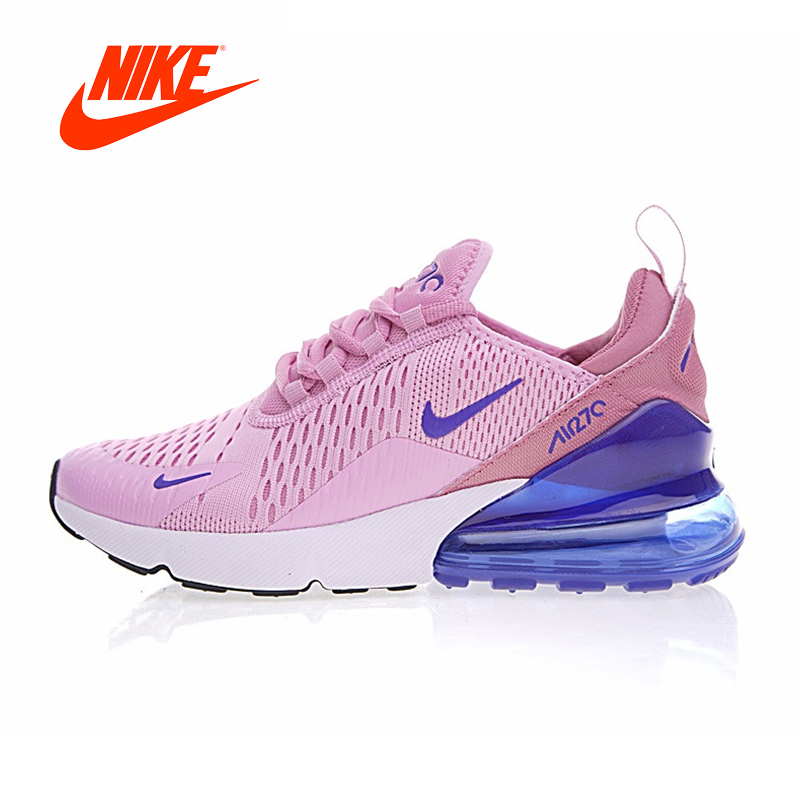 fb957f3dd68b Original New Arrival Authentic Nike Air Max 270 Women s Breathable Running  Shoes Good Quality Sneakers Sport