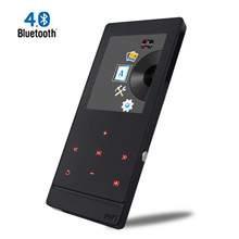 Newest touch screen Mp3 player Bluetooth 4.0 Metal Sports Lossless Hi-Fi Music Player with FM Radio and E-Book Reading