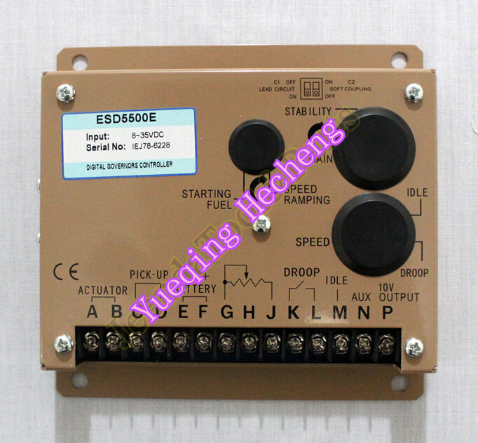 Electronic Engine Speed Controller Governor ESD5500E Generator Genset Parts new esd5500e engine speed governor speed governor gac esd5500e relative humidity up to 95