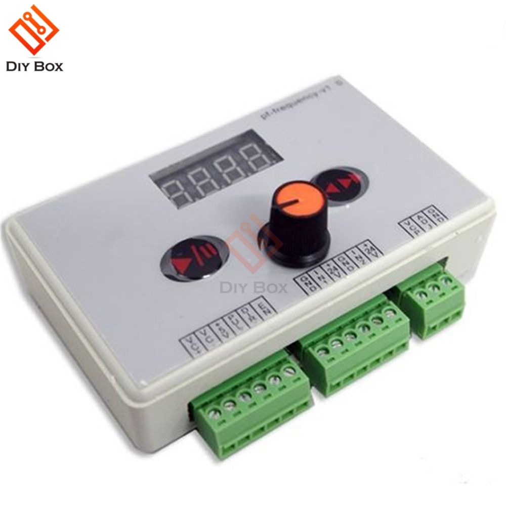 DC 12V 24V Reversible Stepper Motor Speed Controller Stepping Motor Speed Governer Governor Pulse Signal Controller LED Display