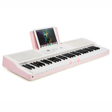 купить The ONE Light 61 keys Pink Digital Piano Electronic Keyboard Educational Musical Instruments в интернет-магазине
