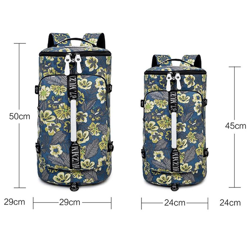 Seyahat çantası kadın 2018 bagaj duffle çantası su geçirmez - Bagaj ve Seyahat Çantaları - Fotoğraf 2