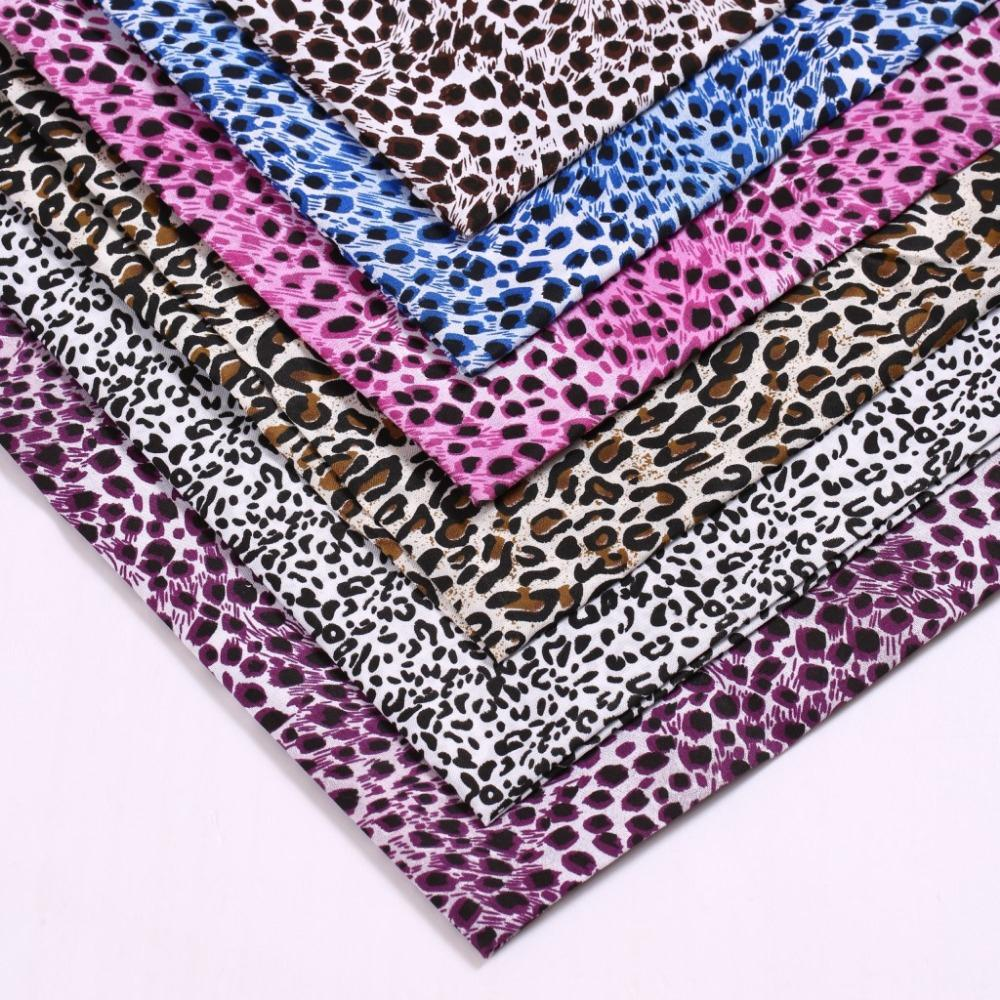 150cm Wide Leopard Print Cloth Printed Fabrics Small Lining Fabric Polyester Textile Upholstery In From Home Garden On