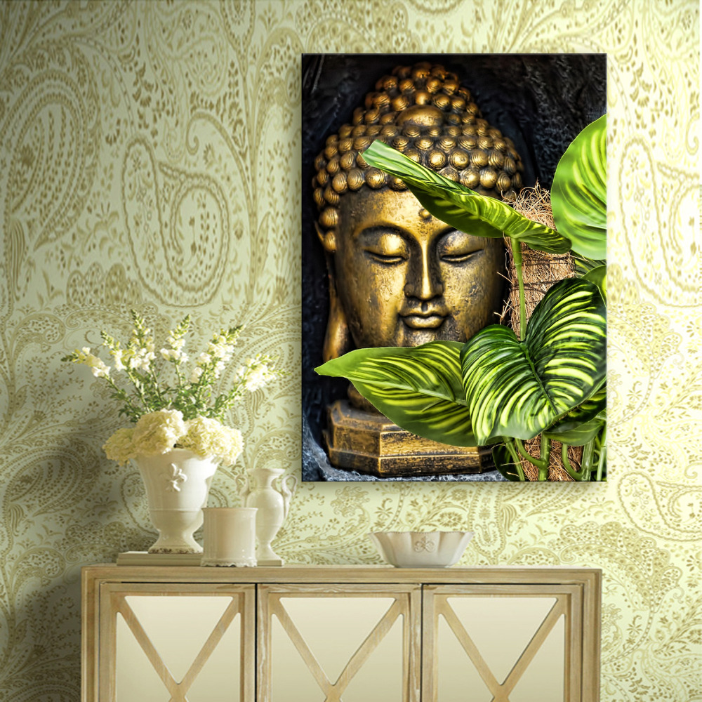 HD Buddha Canvas Art Print Painting Poster, Print Wall Pictures ...