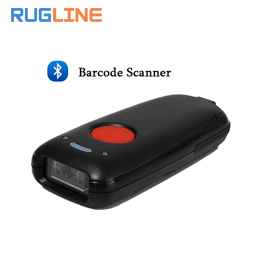 Portable 1D Bluetooth Wireless Barcode Scanner Portable Scanner for windows OS Android for Supermarket Express Company