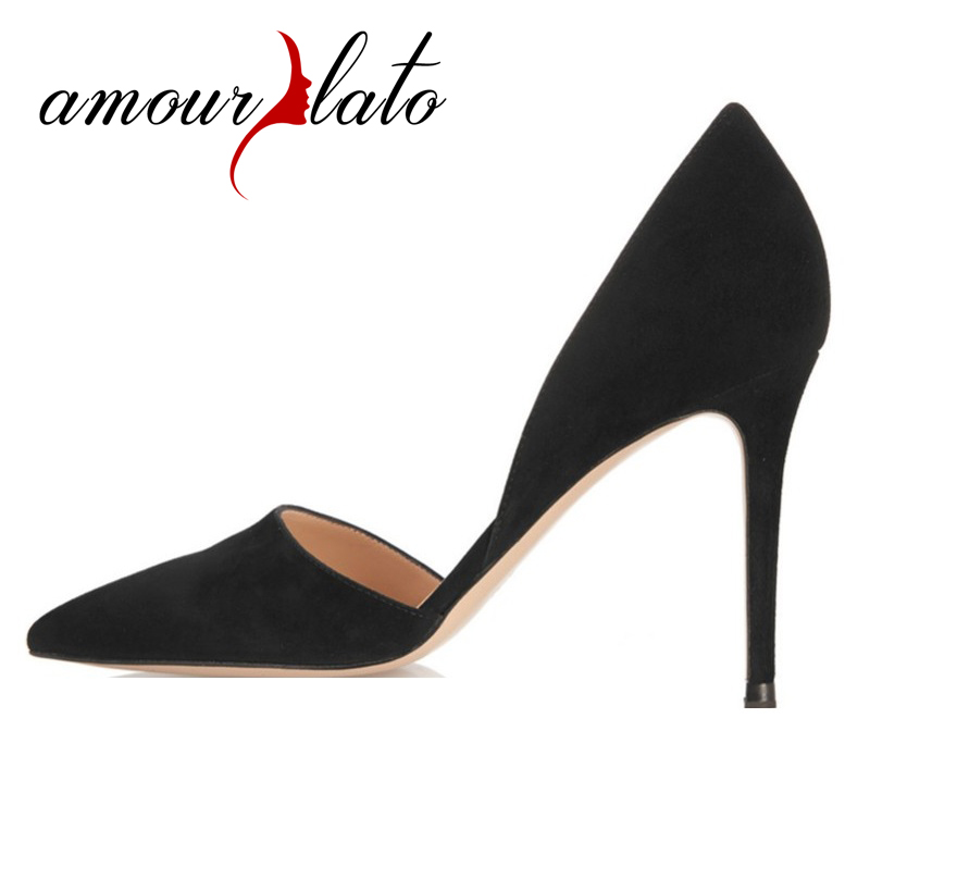 Amourplato Women Ladies Handmade Fashion Pointed Toe D'orsay Sexy Party High Heel Pump Cut Out Slip On Wedding Dress Shoes fashion color patchwork pu leather strange heel shoes sexy peep toe cut out heel slip on pumps trend party date shoes