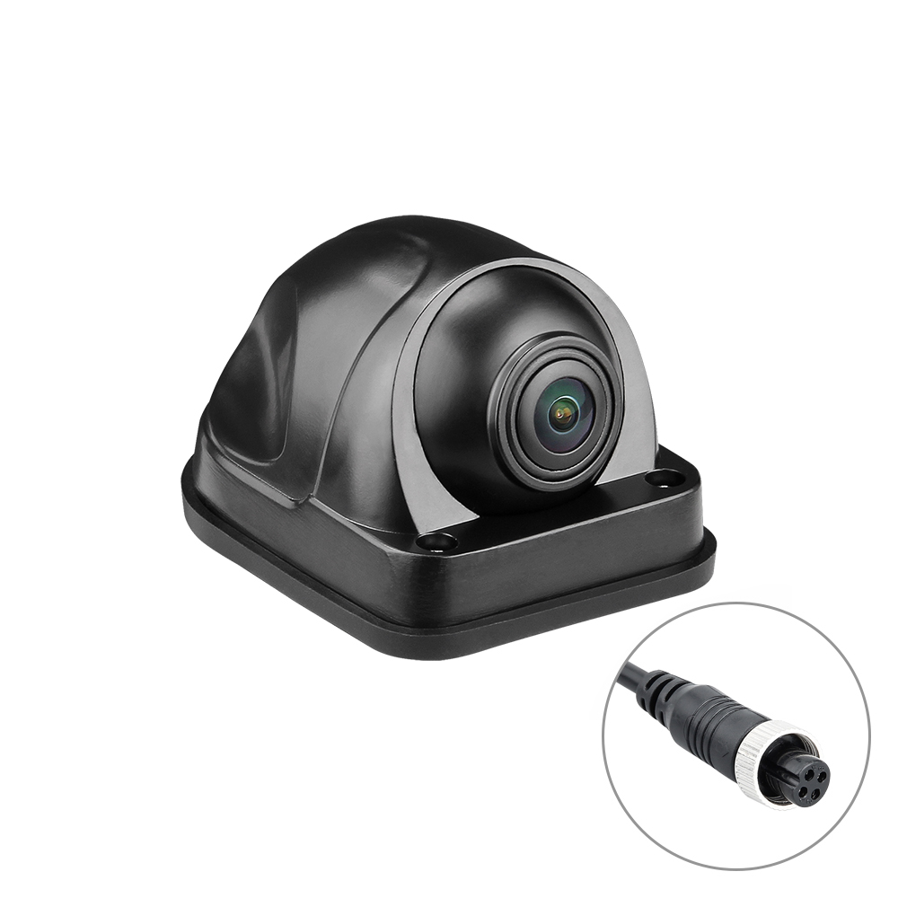 Mini Side Camera 180 Fisheye Panoramic Wide Angle Waterproof Car Mobile DVR Camera PAL/NTSC Backup Front Reverse Camera