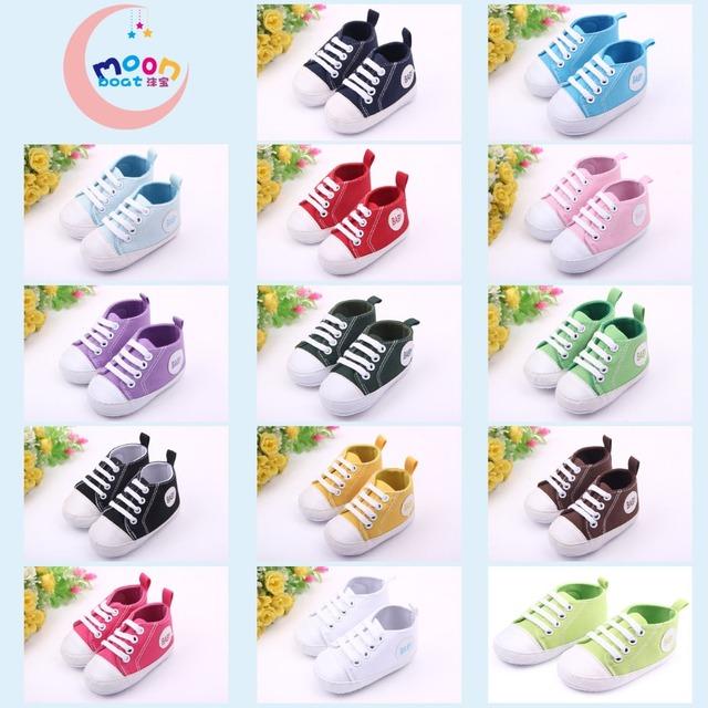 14 estilos Bebé de Lona Primeros Caminante 0-18 M Recién Nacido Niño Niña Suela Suave Zapatos Bebe Fringe Suave No-Calzado antideslizante Cuna Casual Shoes