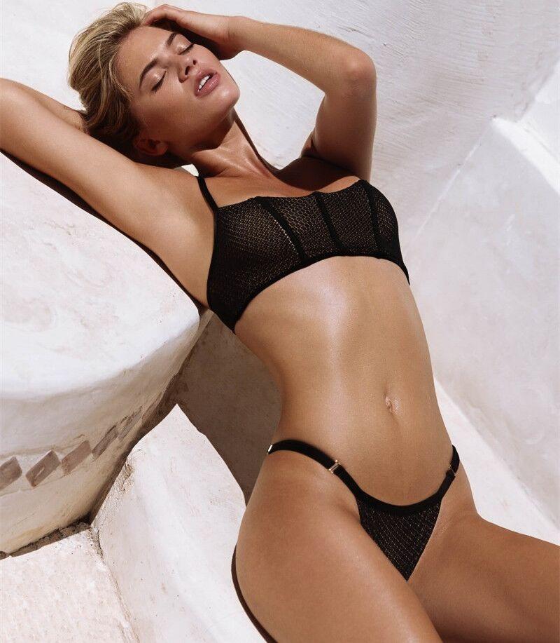 New Mesh material bikini set 2018 Hot swimwear High quality swimsuit maillot de bain push up biquinis women summer bathingsuit