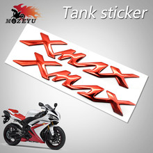 For Yamaha X-MAX XMAX X MAX 125 250 300 Motorcycle 3D Mark Stickers Tank Decals Applique Emblem Badge Tank Pad Protector Decal