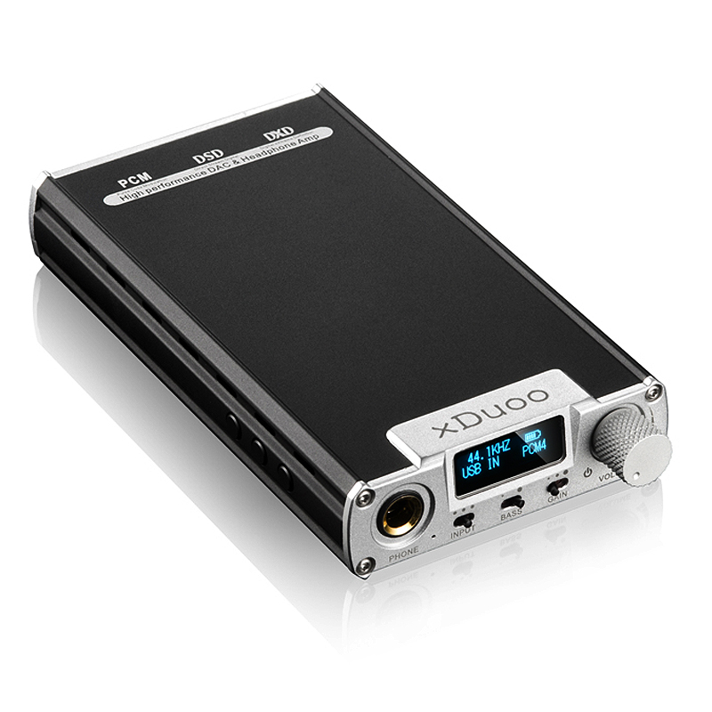 xDuoo XD Audio DAC Headphone Amplifier HD OLED display Support BIT