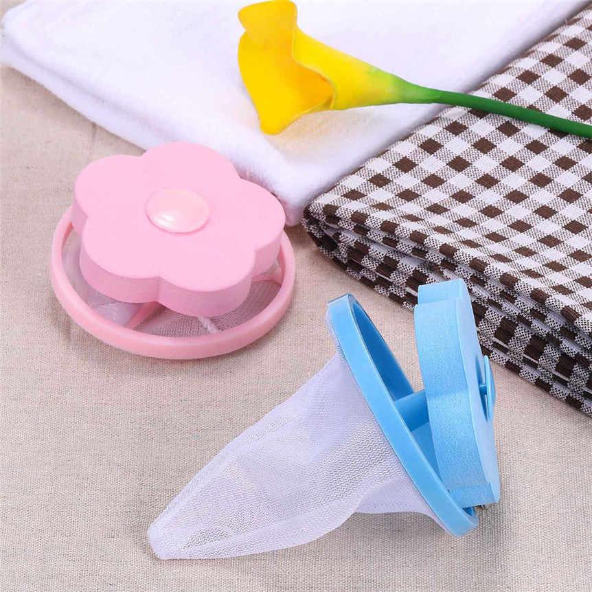 6PCS Magic ซักผ้าเครื่องซักผ้า Lint FILTER ถุงซักรีดตาข่ายผม Catcher ลอยทำความสะอาดเครื่องมือ 9320 #