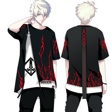 Anime fate/stay night sabre alter cosplay traje camiseta falso duas peças de manga comprida hoodie & manga curta topos 2019 legal(China)