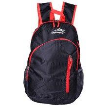 Outdoor Bag 20L Waterproof Backpack Rucksack Mountaineering Bag Women Travel Bags Backpack Men Folding Sports Bag 4 Colors