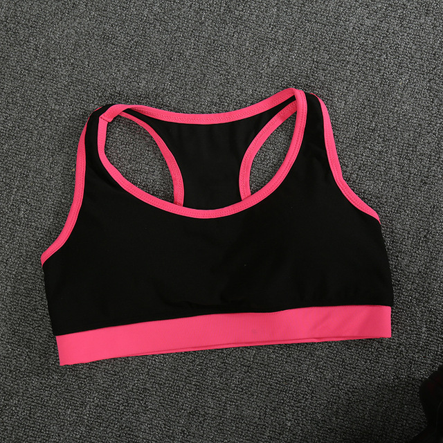 f0c2beabe Sports Yoga Running Fitness Sweat-proof Shock-proof Quick-drying Heart-type  Anti-vibration Bra Comfortable Breathable Underwear