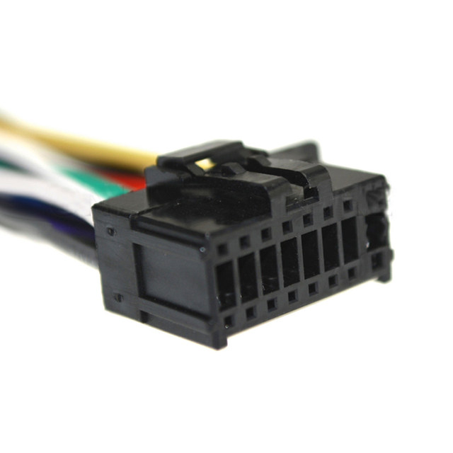 online shop biurlink 10pcs car radio harness cable stereo wire rh m aliexpress com