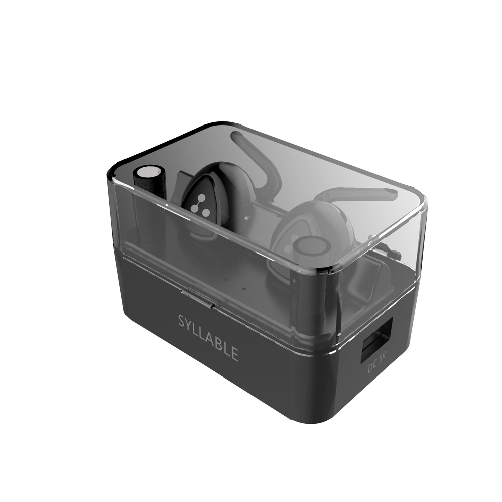 100% ORIGINAL Syllable D900 MINI D900S Updated Version Stereo Bluetooth Earphone Headset Wireless Earbuds also have se215 se315