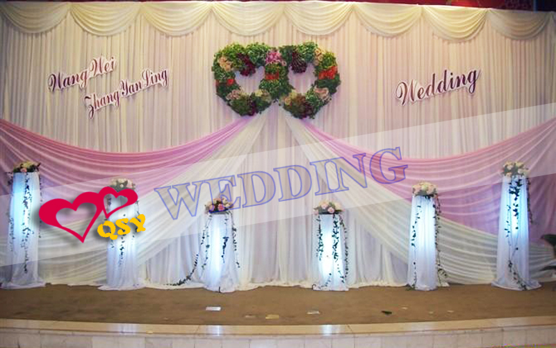 Wedding stage decoration name backdrop is decorated with glittery wedding stage decoration name popular wedding stage backdrop buy cheap junglespirit Images