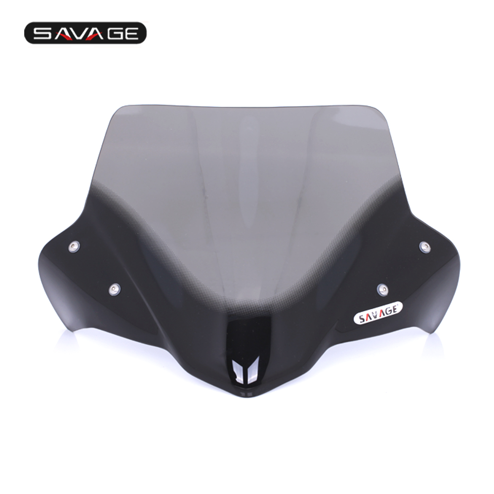 Windshield For <font><b>HONDA</b></font> <font><b>NC</b></font> <font><b>700X</b></font>(DCT) NC700X NC750X 750X(DCT) 2012-2015 Pare-brise Motorcycle Accessories Wind Deflectors Windscreen image