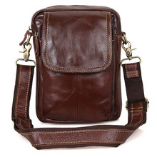 1004B Leather Vintage  Waist Chest Day Pack Cross Body Fanny Bag