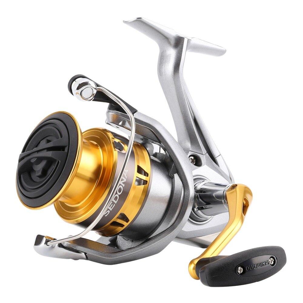 New 2015 SHIMANO Brand SEDONA 1000-5000FE M-compact XGT-7 body 3+1BB Front Drag Spinning Fishing Reel Saltwater Freshwater Wheel Рыбная ловля