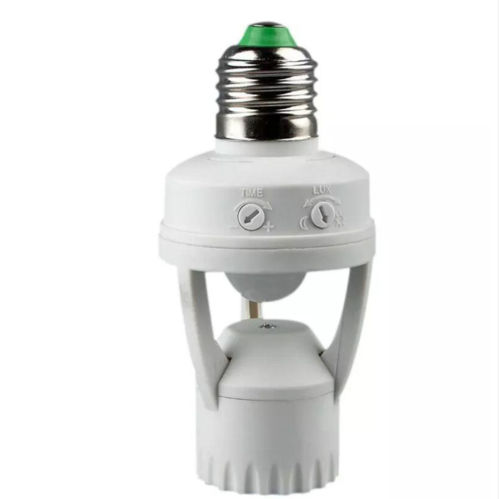 BECOSTAR 360 Degree Infrared Human E27 Socket with PIR induction mortin sensor