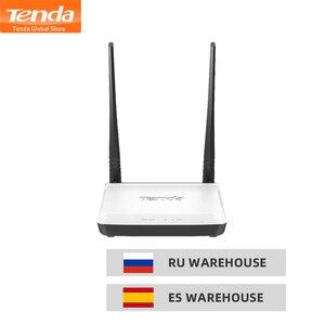 Image 1 - TENDA N300 Không Dây, 2 * 5dBi Wi Fi Tốc Độ 300 Mbps Repeater hỗ trợ WISP/Universal Repeater/Chế Độ AP/Không Dây công tắc Thiết Lập Dễ Dàng
