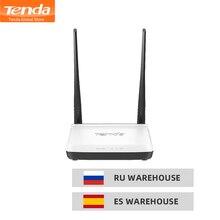 Tenda N300 Router bezprzewodowy, 2 * 5dbi 300 mb/s wzmacniacz Wi Fi, wsparcie WISP/uniwersalny Repeater/tryb AP/bezprzewodowy przełącznik, łatwa konfiguracja