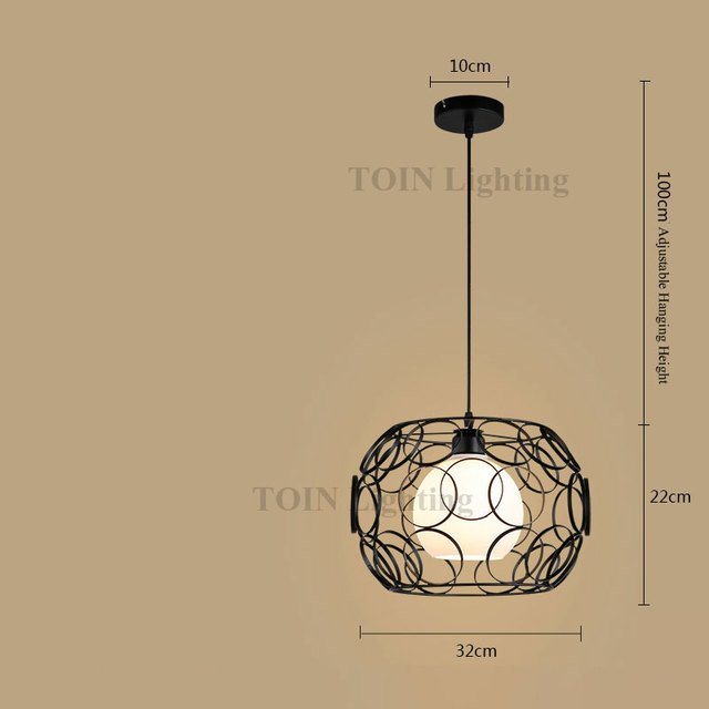 Modern Pendant Lights Led Black