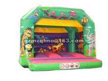 2017 new arrival Child inflatable bouncer kids toy air trampoline bounce house sport castle funny playground without water bag