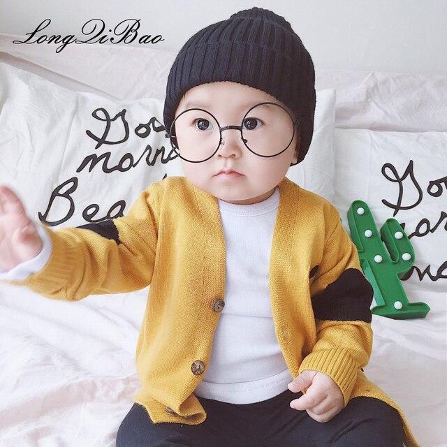 1ffabd3c9339 Baby boy winter puppy embroidery male baby knit sweater cardigan ...