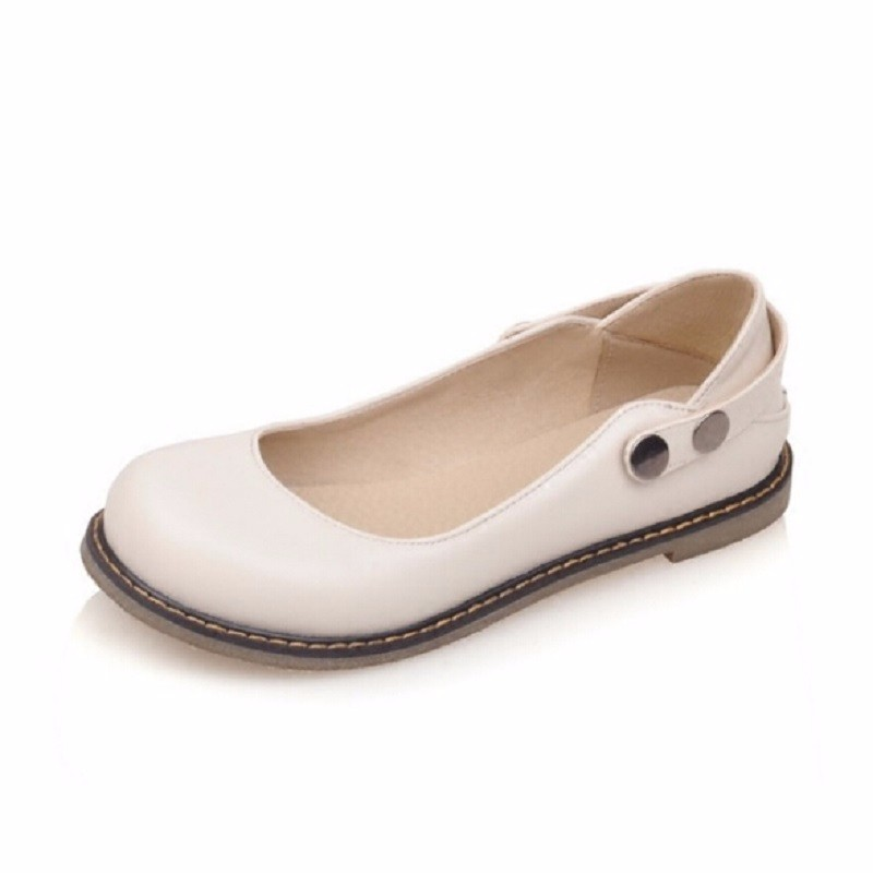 3f18c3e19 New Girl Shoes Two Ways Flat Comfortable Single Shoes Vintage Cute ...
