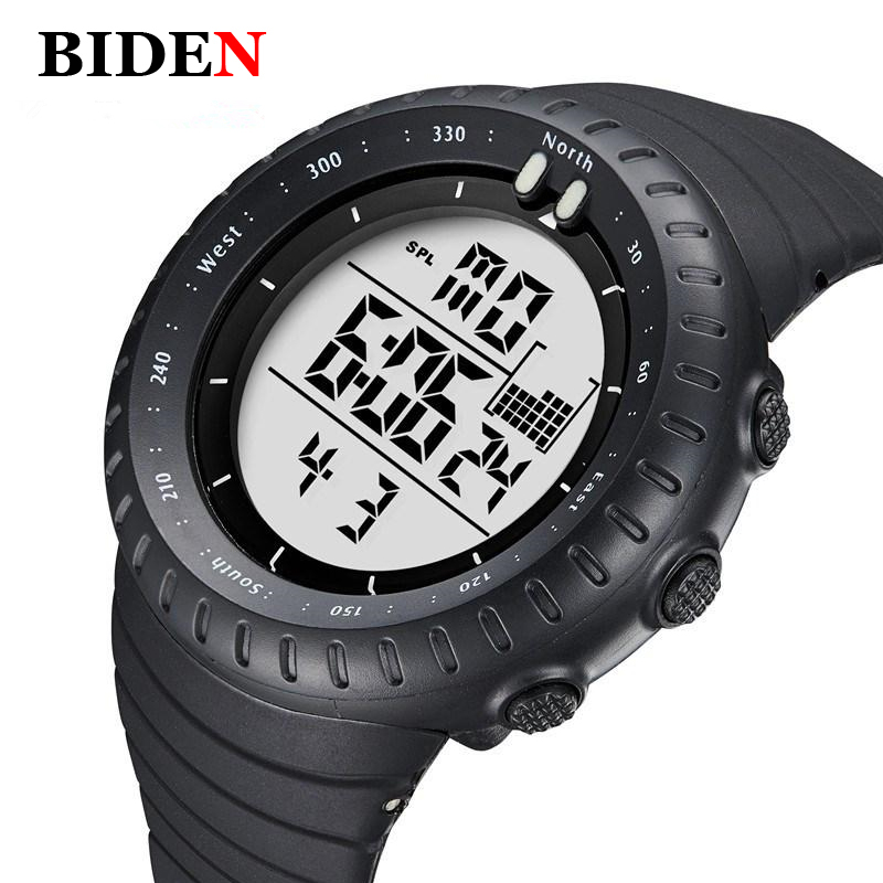 Luxury Brand Mens Watches Sports Watch Digital LED Army Casual Military Watch Men Diving 50m Waterproof Wristwatches Clock стоимость