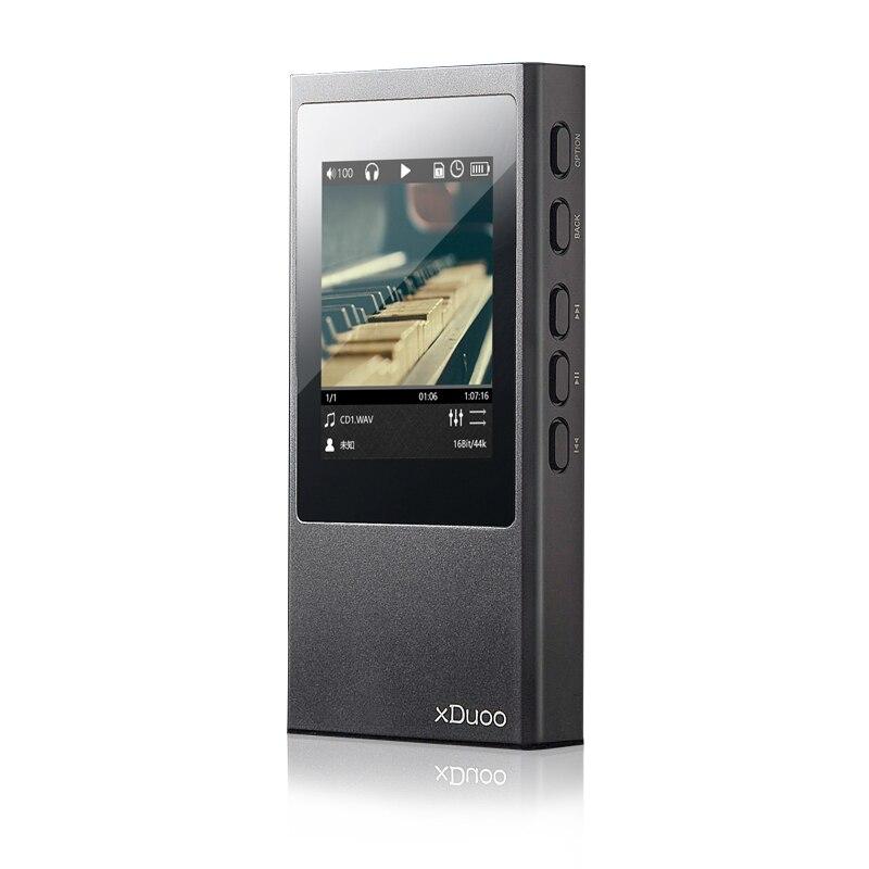 XDUOO X20 lecteur de musique Portable sans perte Bluetooth HiFi lecteur MP3 Balance professionnel DAC puce ton délicat lecteur 2400 mAh