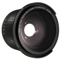 0.35X Super Wide Angle Fisheye Macro Lens 58mm For Canon EOS 700D 650D 600D 550D 1200D 760D 60D 6D 5D Rebel T5i T4i With 18 55mm