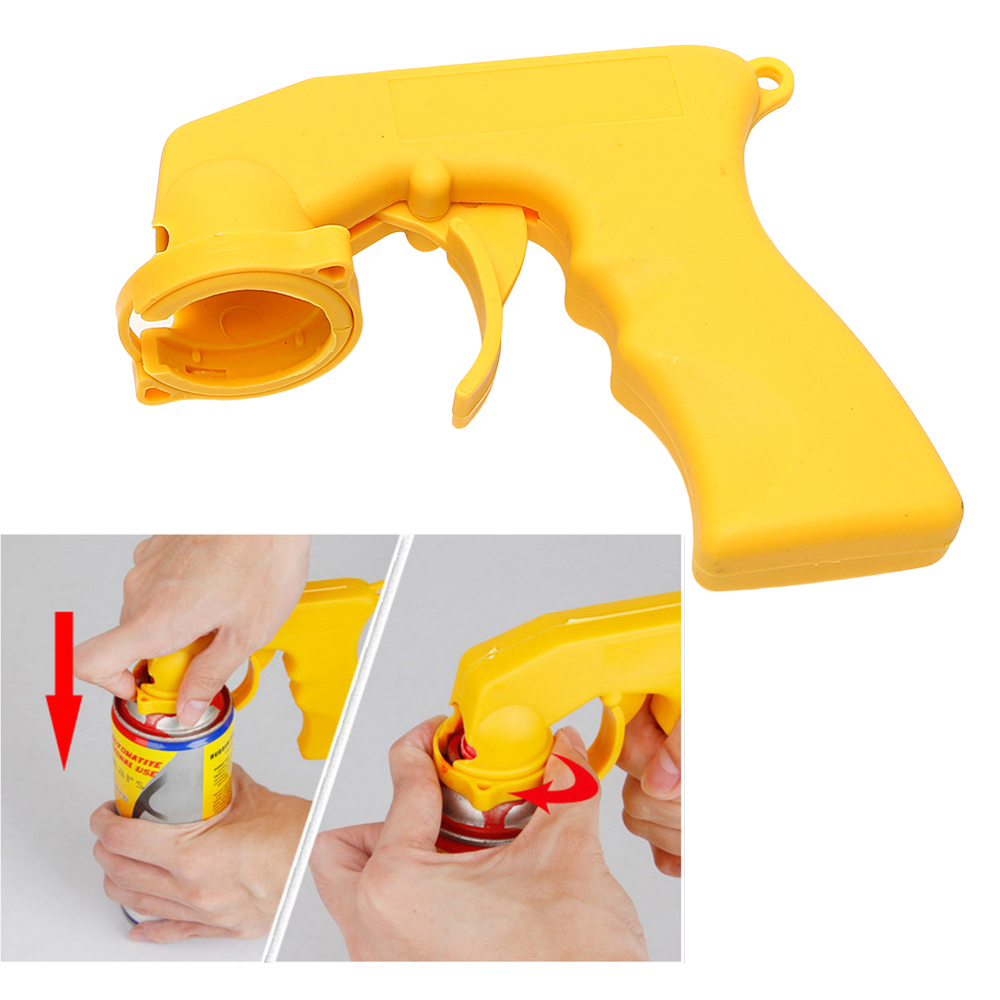 Auto Maintenance Portable Car Care Spray Adaptor Paint Gun Locking Collar Handle With Full Grip Trigger Car-styling