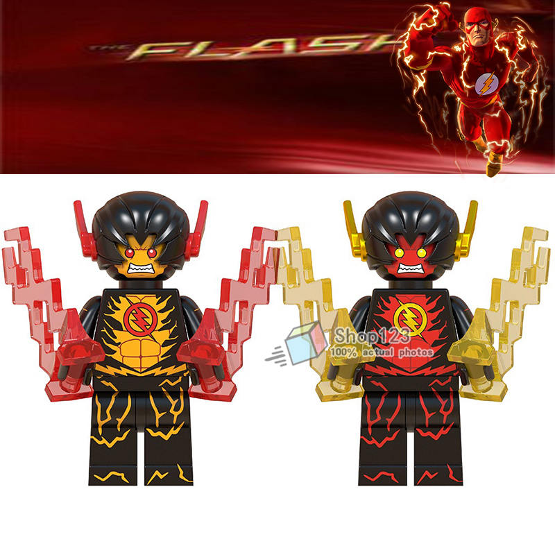 20 pcs lot dc super heroes the red flash reverse flash first generation legoings minifigured - Flash le super heros ...