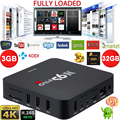 Ee. uu./reino unido/au/eu docooler s905 amlogic 3 gb ddr3 32 gb rom android tv box Quad Core KODI 16.0 a Plena Carga 4 K WiFi H.265Smart TV Box