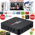 Eua/reino unido/au/eu docooler s905 amlogic 3 gb ddr3 de 32 gb rom caixa de tv android Quad Core KODI 16.0 Totalmente Carregado 4 K Caixa de TV Wi-fi H.265Smart