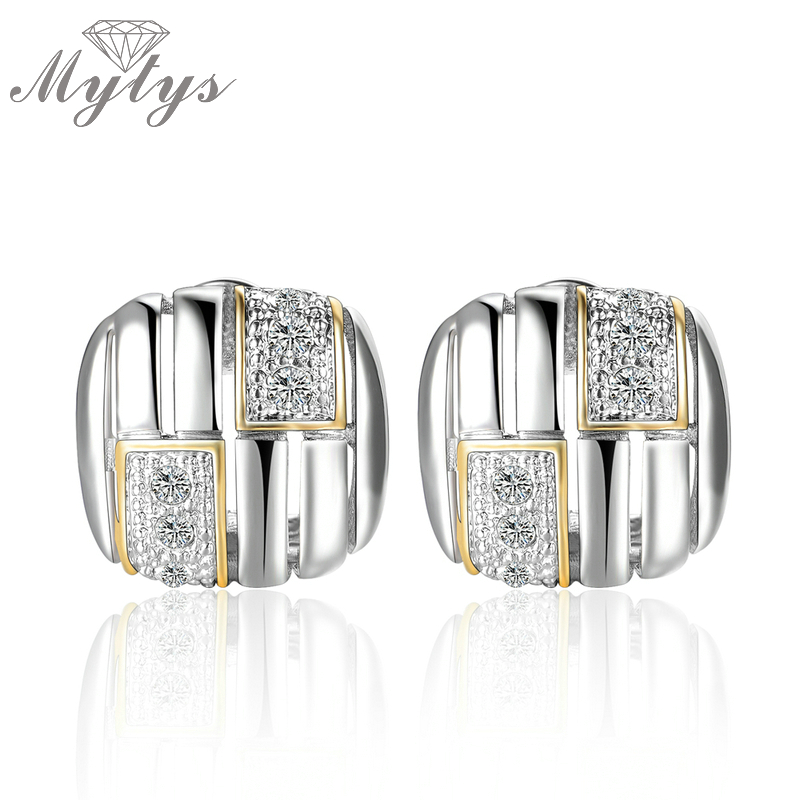 Mytys Fashion Big Stud Earring for Women New Arrival Jewelry gift for Women Party Accessory CE286