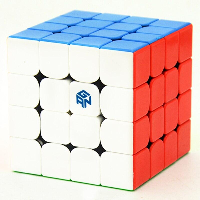 GAN460 M 4*4*4 магнитные профессиональных Скорость Magic Cube Ган 460 развивающие 4x4x4 логические игрушки для обучения детей Cubo волшебные игрушки